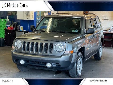 2013 Jeep Patriot for sale at JK Motor Cars in Pittsburgh PA
