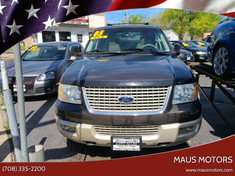 2005 Ford Expedition for sale at MAUS MOTORS in Hazel Crest IL