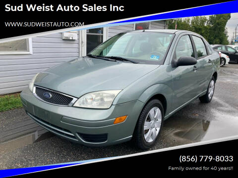 2006 Ford Focus for sale at Sud Weist Auto Sales Inc in Maple Shade NJ