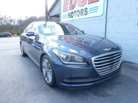 2015 Hyundai Genesis for sale at Edge Motors in Mooresville NC