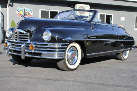 1949 Packard Super Eight for sale at Great Lakes Classic Cars & Detail Shop in Hilton NY