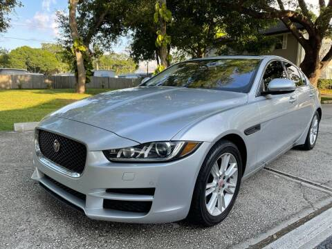 2017 Jaguar XE for sale at RoMicco Cars and Trucks in Tampa FL
