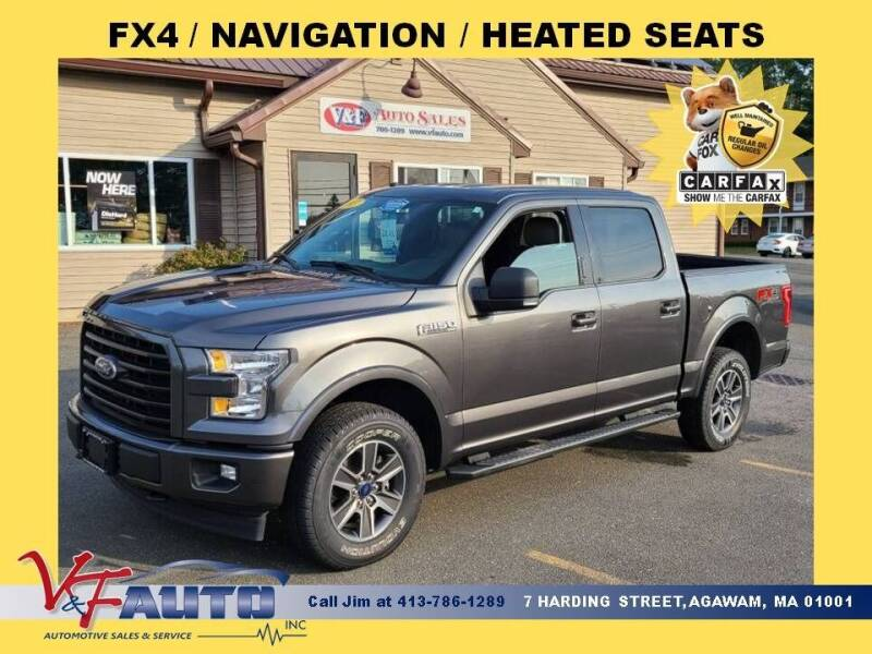 2017 Ford F-150 for sale at V & F Auto Sales in Agawam MA