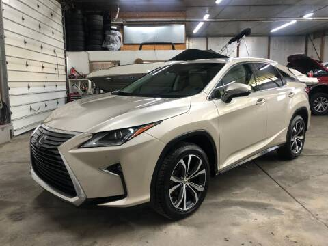 2017 Lexus RX 450h for sale at T James Motorsports in Gibsonia PA