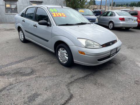 2000 Ford Focus for sale at Low Auto Sales in Sedro Woolley WA