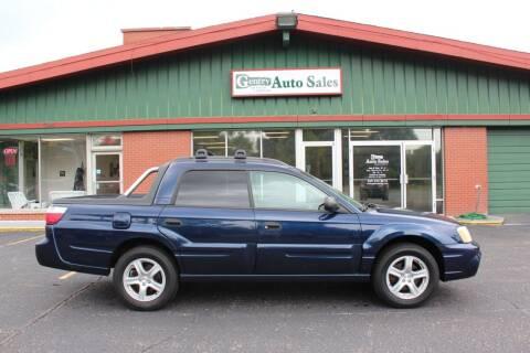 2005 Subaru Baja for sale at Gentry Auto Sales in Portage MI
