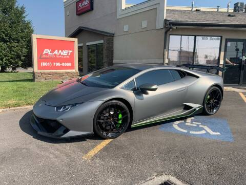 2017 Lamborghini Huracan for sale at PLANET AUTO SALES in Lindon UT