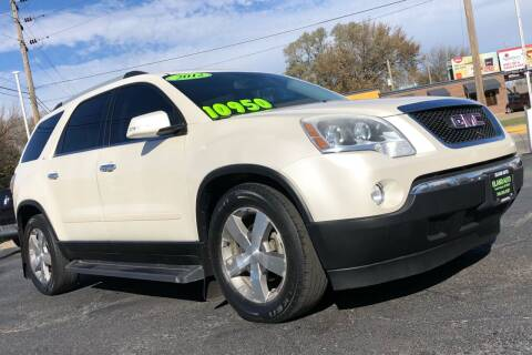 2012 GMC Acadia for sale at Island Auto in Grand Island NE