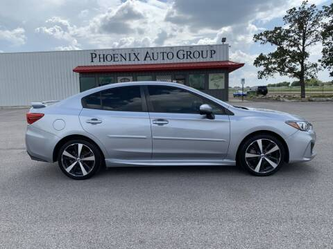 2018 Subaru Impreza for sale at PHOENIX AUTO GROUP in Belton TX