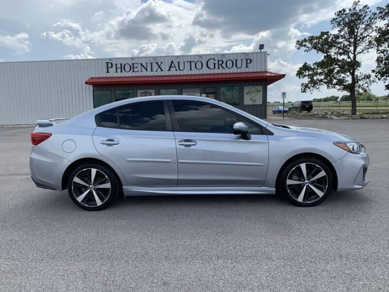 2018 Subaru Impreza for sale at PHOENIX AUTO GROUP in Belton TX