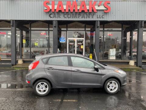 2018 Ford Fiesta for sale at Siamak's Car Company llc in Salem OR