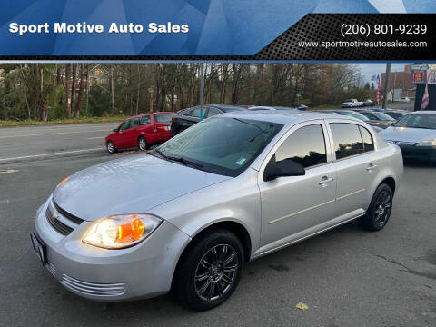 2005 Chevrolet Cobalt for sale at Sport Motive Auto Sales in Seattle WA