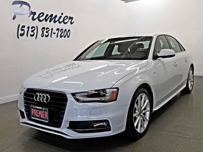 2015 Audi A4 for sale at Premier Automotive Group in Milford OH