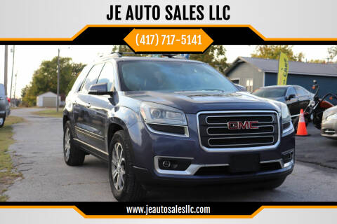 2013 GMC Acadia for sale at JE AUTO SALES LLC in Webb City MO
