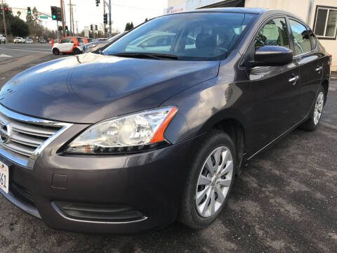 2015 Nissan Sentra for sale at AutoDistributors Inc in Fulton CA