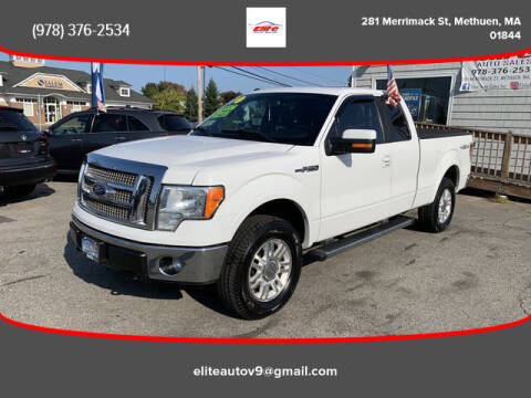 2011 Ford F-150 for sale at ELITE AUTO SALES, INC in Methuen MA