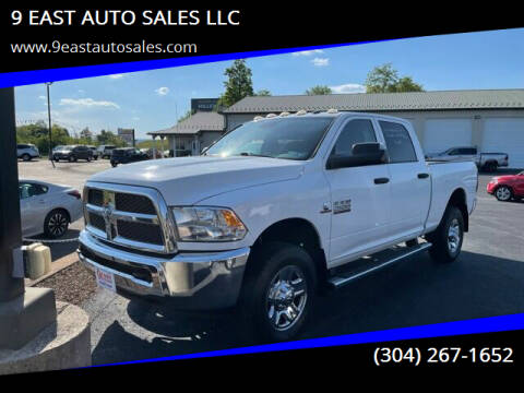 2014 RAM Ram Pickup 2500 for sale at 9 EAST AUTO SALES LLC in Martinsburg WV