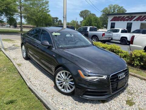 2012 Audi A6 for sale at Beach Auto Brokers in Norfolk VA