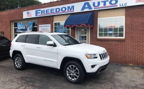 2015 Jeep Grand Cherokee for sale at FREEDOM AUTO LLC in Wilkesboro NC