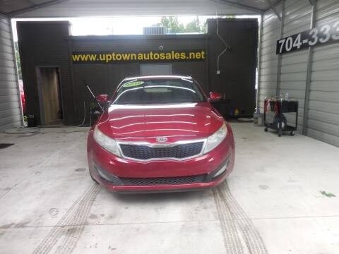 2012 Kia Optima for sale at Uptown Auto Sales in Charlotte NC