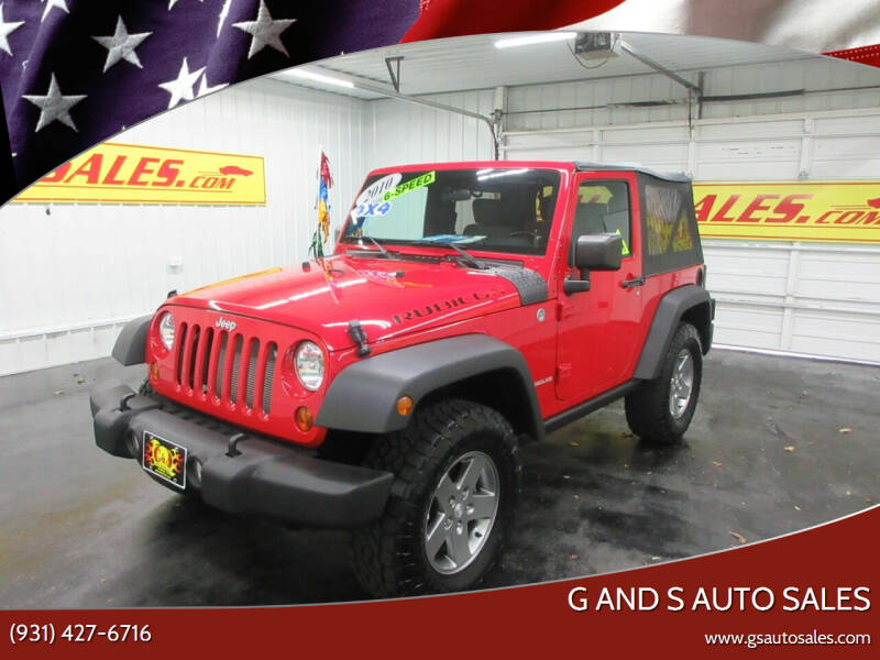 2010 Jeep Wrangler for sale at G and S Auto Sales in Ardmore TN