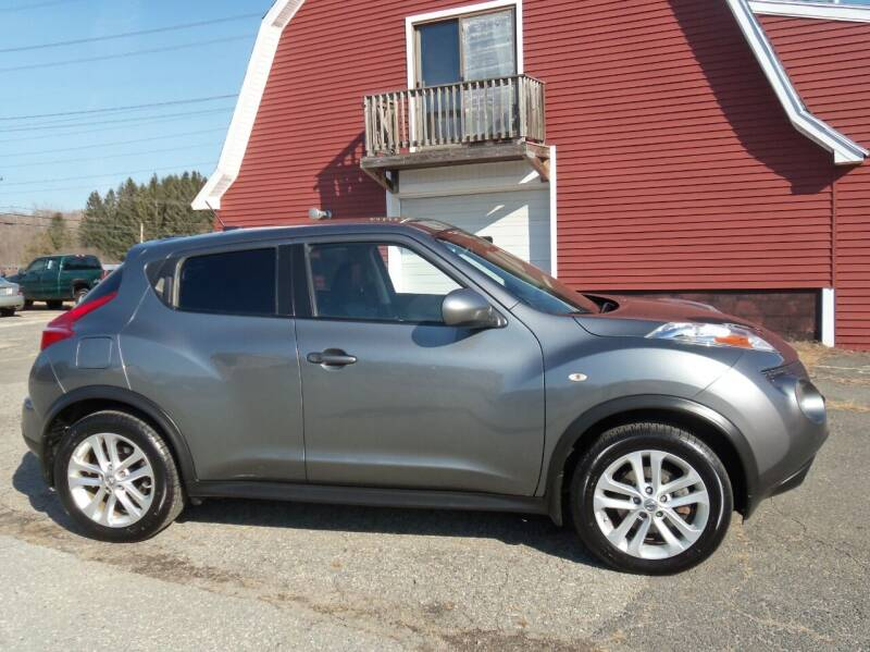 2012 Nissan JUKE for sale at Red Barn Motors, Inc. in Ludlow MA