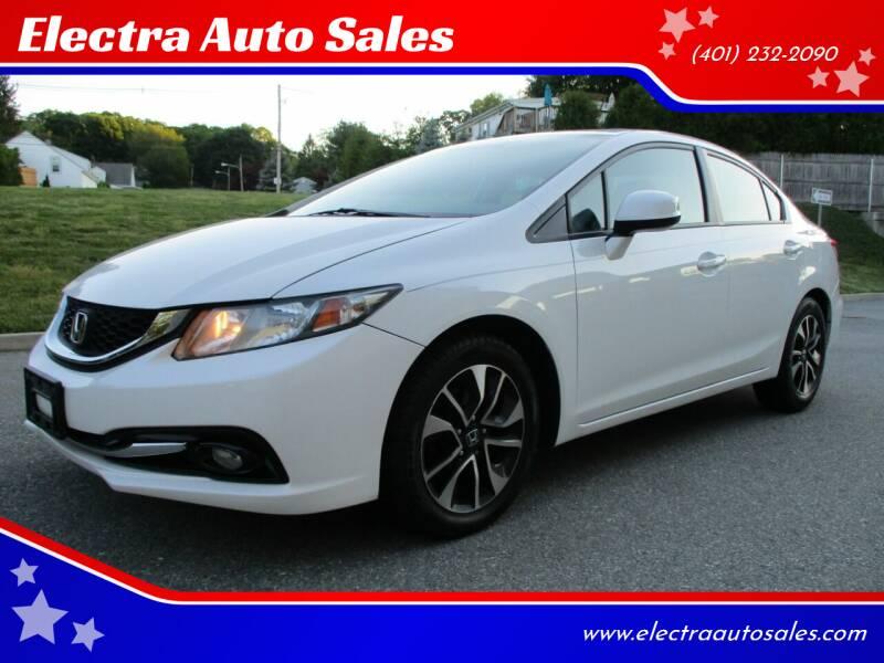2013 Honda Civic for sale at Electra Auto Sales in Johnston RI