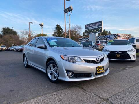 2014 Toyota Camry for sale at Save Auto Sales in Sacramento CA