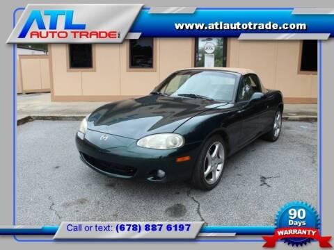2001 Mazda MX-5 Miata for sale at ATL Auto Trade, Inc. in Stone Mountain GA