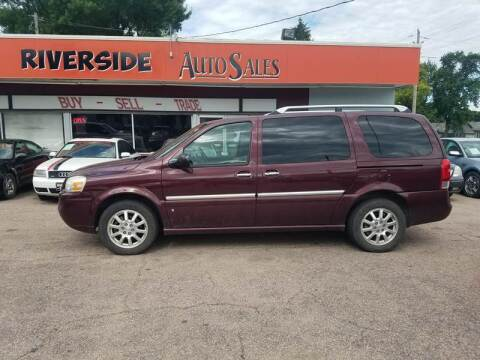 2006 Buick Terraza for sale at RIVERSIDE AUTO SALES in Sioux City IA