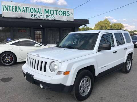 2016 Jeep Patriot for sale at International Motors Inc. in Nashville TN