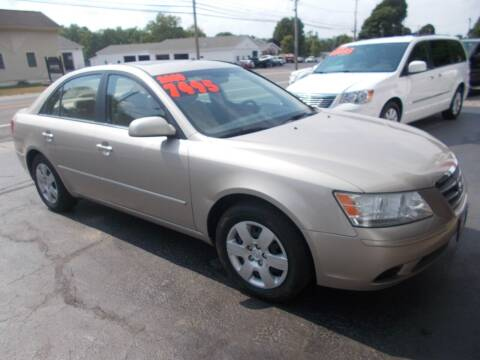 2009 Hyundai Sonata for sale at Dansville Radiator in Dansville NY