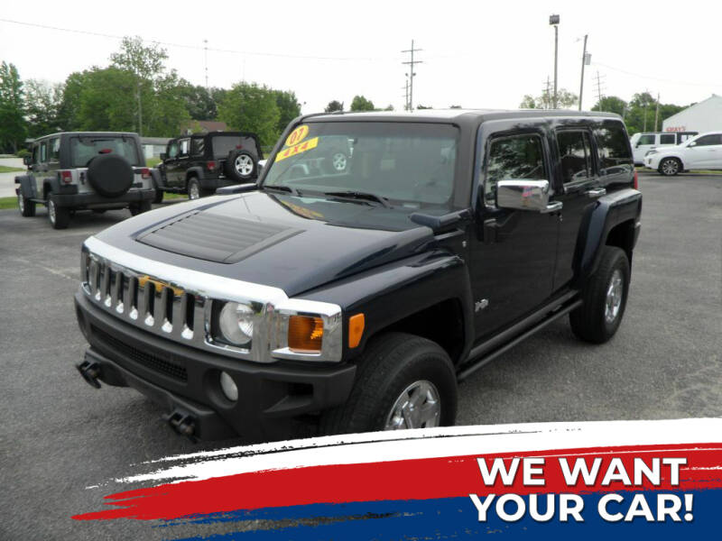 2007 HUMMER H3 for sale at CARSON MOTORS in Cloverdale IN