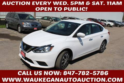 2016 Nissan Sentra for sale at Waukegan Auto Auction in Waukegan IL