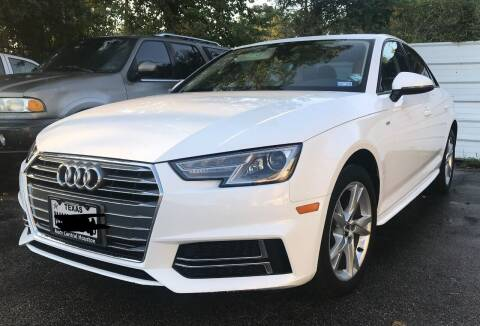 2018 Audi A4 for sale at Northtown Auto Center in Houston TX