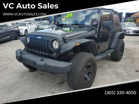 2009 Jeep Wrangler for sale at VC Auto Sales in Miami FL