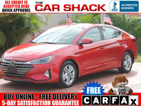 2020 Hyundai Elantra for sale at The Car Shack in Hialeah FL