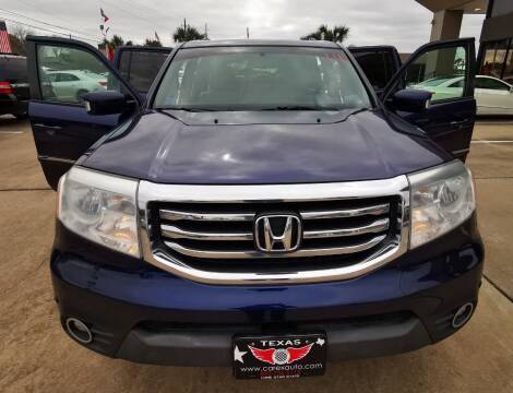 2013 Honda Pilot for sale at Car Ex Auto Sales in Houston TX