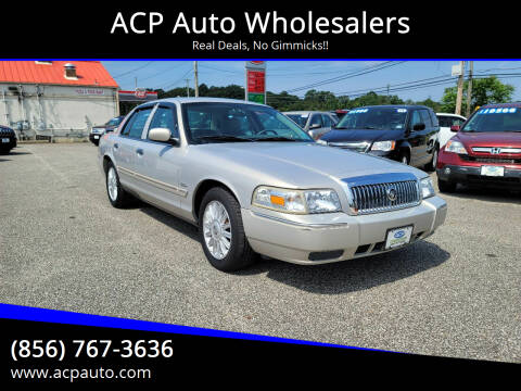 2009 Mercury Grand Marquis for sale at ACP Auto Wholesalers in Berlin NJ