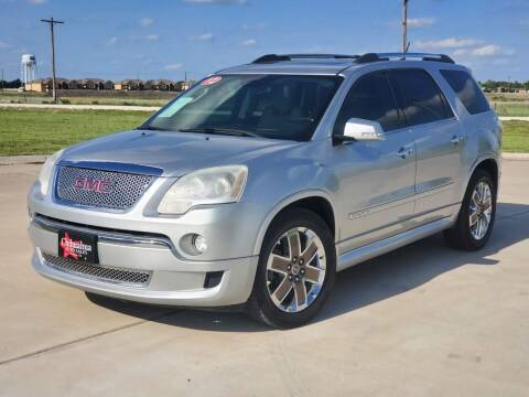 2012 GMC Acadia for sale at Chihuahua Auto Sales in Perryton TX