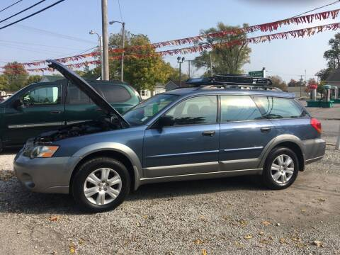 2005 Subaru Outback for sale at Antique Motors in Plymouth IN