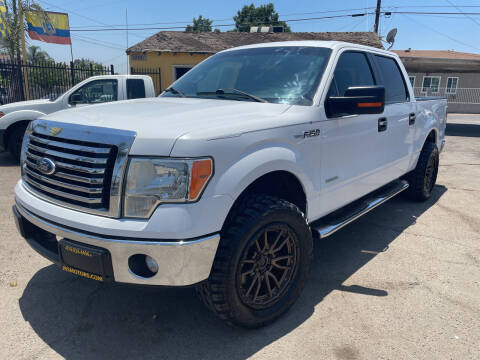 2011 Ford F-150 for sale at JR'S AUTO SALES in Pacoima CA