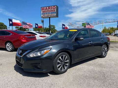 2017 Nissan Altima for sale at Mario Motors in South Houston TX