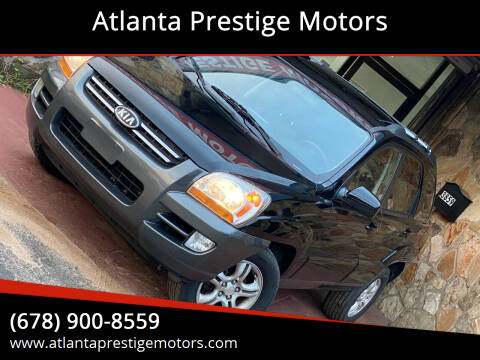 2008 Kia Sportage for sale at Atlanta Prestige Motors in Decatur GA