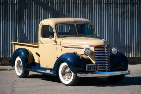 1939 Chevrolet C/K 10 Series for sale at Route 40 Classics in Citrus Heights CA