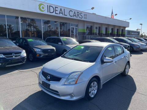 2012 Nissan Sentra for sale at Ideal Cars in Mesa AZ