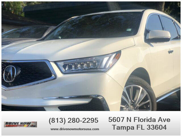 2018 Acura MDX for sale at Drive Now Motors USA in Tampa FL