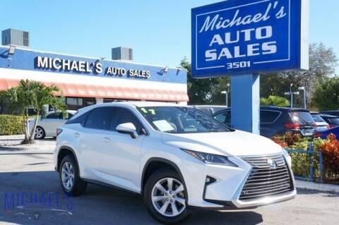 2017 Lexus RX 350 for sale at Michael's Auto Sales Corp in Hollywood FL