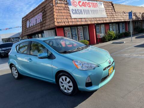 2014 Toyota Prius c for sale at CARSTER in Huntington Beach CA