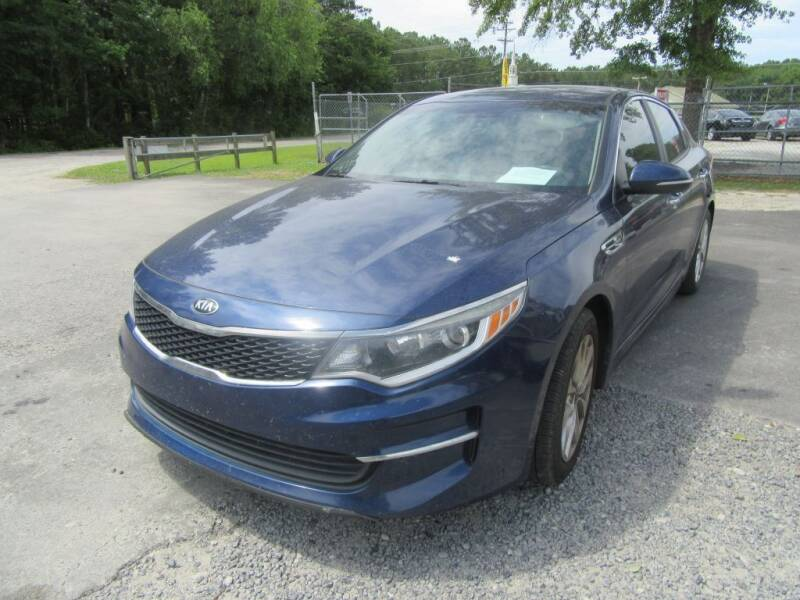 2016 Kia Optima for sale at Bullet Motors Charleston Area in Summerville SC